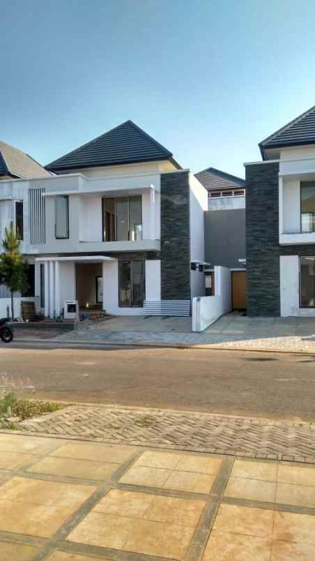 Rumah Mewah Bisa Free Desain Fas Lengkap Kedaton Terrace Bsb Semarang