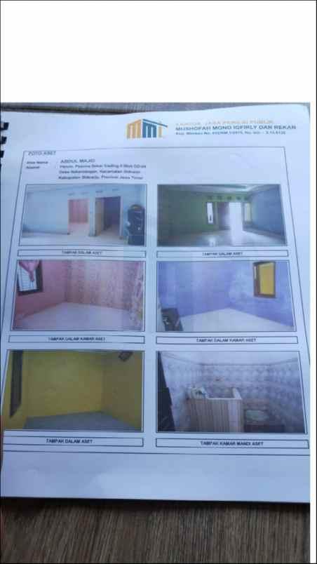 Jual Rumah Di Bawah Pasaran Dekat Pusat Kota Sidoarjo Bu